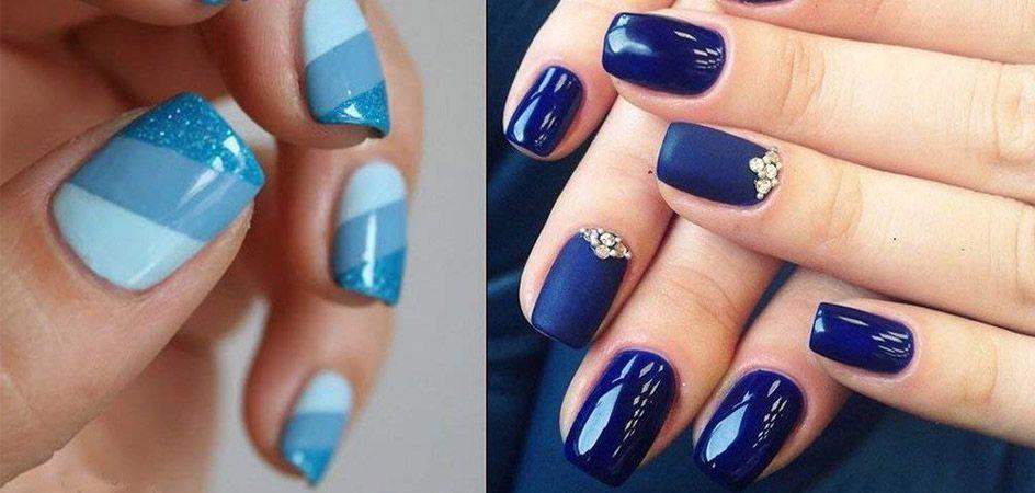 esmaltes permanentes azules